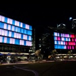 Luminous in Darling Harbour - a light show at your fingertips
