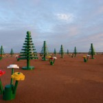 LEGO grows in the desert