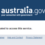 Government online: access denied