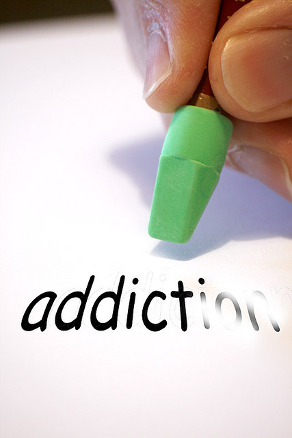 ... own hand in a desperate attempt to cure his addiction to the Internet